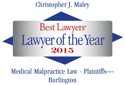 Best Lawyers Medical Malpractice VT - Badge